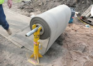 бетон в рулонах технологии