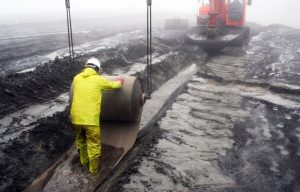 укладка бетона в рулонах