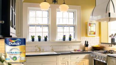 Краска Dulux Ultra Resist для кухни и ванной