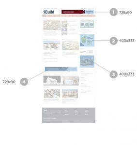Размещение рекламы на 1build