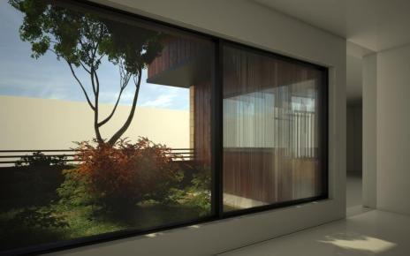 Large-Area Fluidic Windows