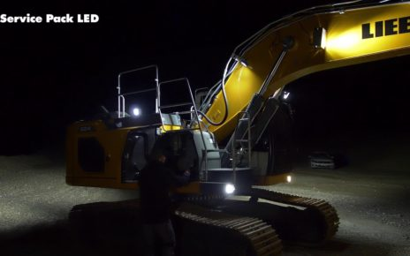 Liebherr LED lighting system