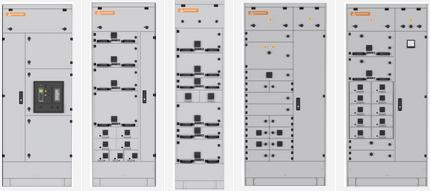 Модули НКУ Qube