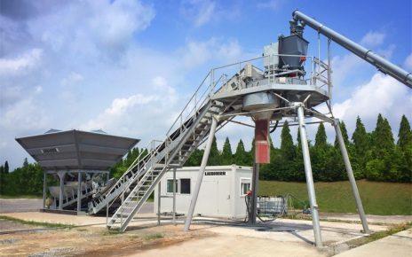 Бетоносмесительный завод Liebherr LCM 1 0