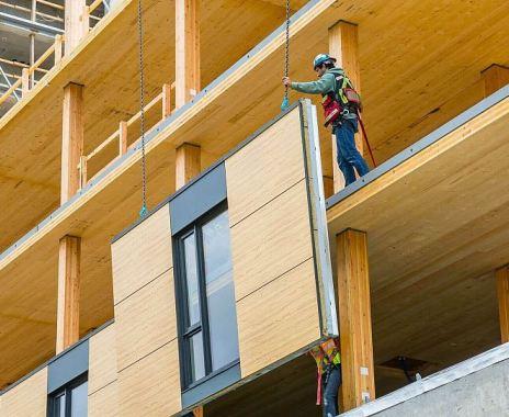 Деревянное домостроение из CLT