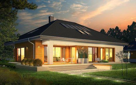 Одноэтажный дом