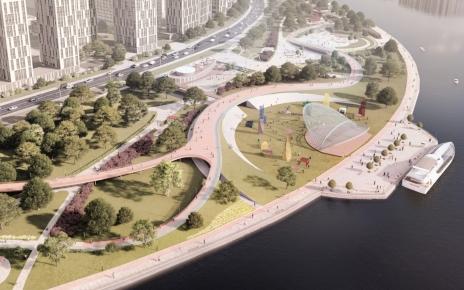Новая парковая зона