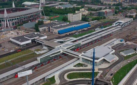 Открыт вокзал Восточный