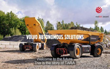 Autonomous electric dumper TA15