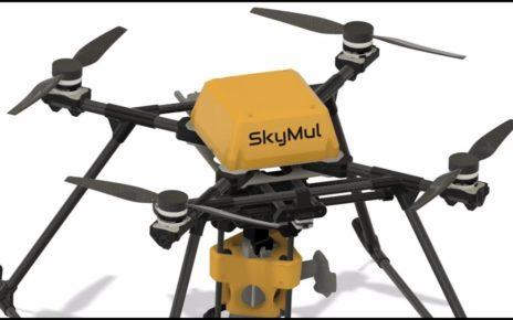 Геликоптер-робот SkyTy P3