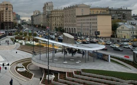 Парк на Павелецкой площади